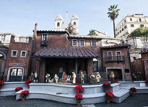 Altri eventi: I presepi capitolini a piazza Navona e a Trinità de'Monti