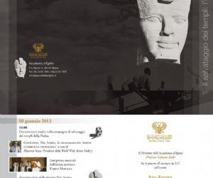 Mostre: Abu Simbel: il salvataggio dei templi, l'uomo e la tecnologia