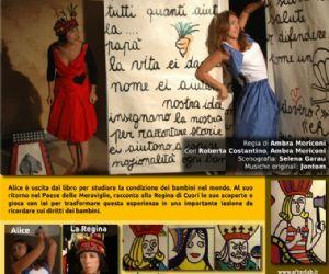 Spettacoli: Alice nel Paese dei Diritti, con il Patrocinio di Amnesty International