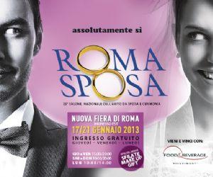 Fiere: Roma Sposa alla nuova Fiera di Roma