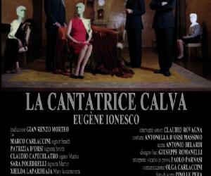 """Spettacoli: Alla Casa delle Culture """"La cantatrice calva"""" di Eugene Ionesco"""