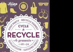 Altri eventi: Interact propongono il Cycle&REcycle MARKET il 20 Gennaio al Forte Fanfulla !!