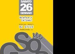 Serate: Sabato 26 Gennaio al TEATRO LO SPAZIO So Good! New Party in Town!