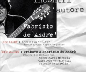 Serate: Frascati, incontri d'autore: Fabrizio De Andrè