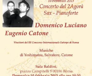 Concerti: Concerto del Duo Sax – Pianoforte 2Agorà