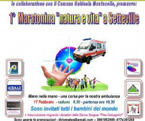 """Altri eventi: A Setteville di Guidonia l'associazione onlus """"Lecentopartidelcuore"""" promuove una giornata di sport"""