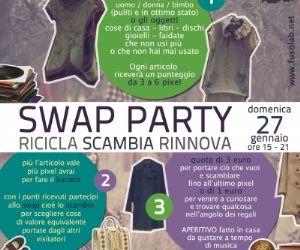 Fiere: SWAP PARTY- MERCATINO ANTI CRISI AL FUSOLAB 2.O!
