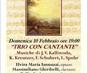 Concerti - Musica ai Ss. Apostoli - III Stagione concertistica 2013 presenta: Trio con cantante