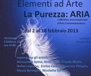 Mostre - Sinergy Art Studio presenta Elementi ad Arte la Purezza: ARIA