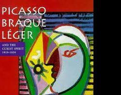 """Mostre: Picasso, Braque, Léger e il linguaggio internazionale del Cubismo"""""""