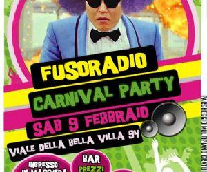 Serate: Fusoradio Carnival Party