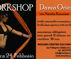 Corsi e seminari - Workshop di danze orientali
