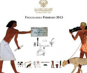 Attività - Accademia d'Egitto - Programma di febbraio 2013