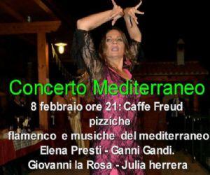 Spettacoli: Concerto mediterraneo... viaggio tra pizziche e musiche mediterranee