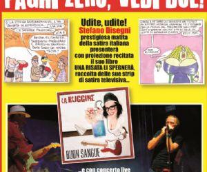 Serate: Stefano Disegni e La Ruggine Rock Band al Teatro Ambra alla Garbatella