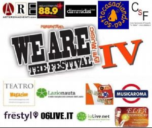Festival - We A.R.E. The Festival - Tutti i mercoledì presso il Sotto Casa di Andrea