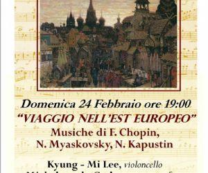 Concerti - Viaggio nell'est europeo - Musica ai Ss. Apostoli