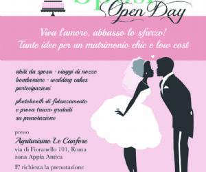 Altri eventi: Open Day Chic Low Cost - Matrimonio in tempi di crisi?