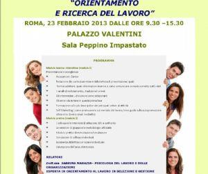 Corsi e seminari - Workshop orientamento al lavoro