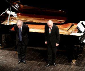 Concerti: Bruno Canino e Antonio Ballista duo pianistico