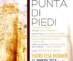Spettacoli - In punta di piedi di Barbara Frascà al Teatro Elsa Morante