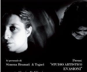Gallerie: Bi personale di Simona Bramati & Togaci