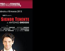 Spettacoli: Al Teatro della Cometa va in scena Minchia Signor Tenente