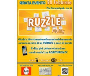 Serate: RUZZLE PARTY ROMA