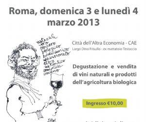 Sagre e degustazioni - VINI di VIGNAIOLI - Vins De Vignerons alla Città dell'Altra Economia - CAE
