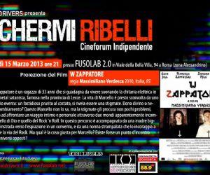 """Rassegne: axidrivers presenta """"SCHERMI RIBELLI"""": Proiezione """"W ZAPPATORE"""" di Massimiliano Verdesca"""