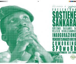 Mostre: Coworking SPQwoRk presenta la mostra: Sostiene Sankara
