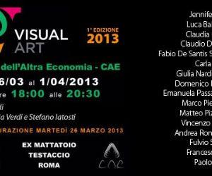 Mostre: L'associazione culturale Visual Art organizza la sua prima esposizione collettiva negli spazi della Città dell'Altra Economia
