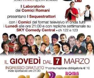 Serate: Tutti i giovedì a Roma appuntamento con la comicità di SCQR Lab!