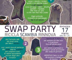 Fiere - Swap Party di Primavera Ricicla - Scambia – Rinnova: perché la vita… è una questione di gusti!