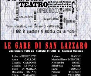 """Spettacoli: Spettacolo teatrale """"Le gare di San Lazzaro"""" al Teatro della Visitazione"""