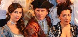 """Spettacoli: Dopo il uccesso comico di """"Cyrano...dacci una mano"""" Mimmo Strati in Il Ventaglio di Carlo Goldoni"""