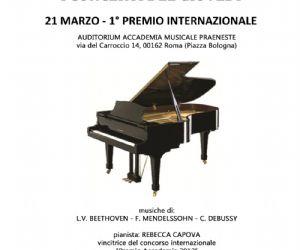 Concerti - musiche di Beethoven, Mendelssohn, Debussy