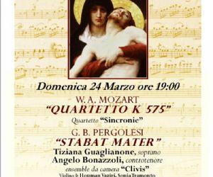 Concerti: Concerto Domenica 24 Marzo ai Santissimi Apostoli