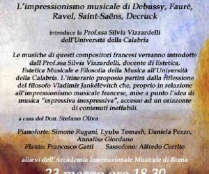 Concerti: L'impressionismo musicale di Debussy, Fauré, Ravel, Saint-Saëns, Decruck