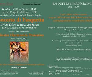 Spettacoli: Giri di Valzer a Villa Borghese. Concerto-spettacolo al Parco dei Daini
