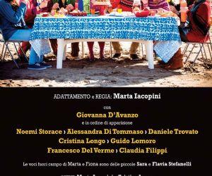 """Spettacoli: La Compagnia Chièdiscena di Guido Lomoro presenta QUESTA SEI TU liberamente ispirato al racconto """"Pretending the bed is a raft"""" di Nanci Kincaid"""