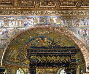 Visite guidate: Santa Maria Maggiore: Basilica, Salone dei papi e loggia delle benedizioni