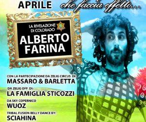 Spettacoli: Alberto Farina al Teatro Ambra alla Garbatella