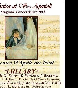 Concerti: Al Convento dei Ss. Apostoli due secoli di Ninne Nanne