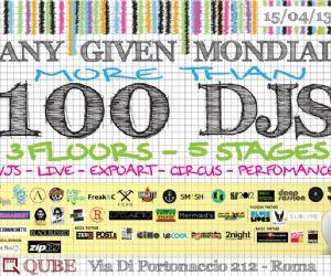 Spettacoli - Festival 100 dj tutti in una notte