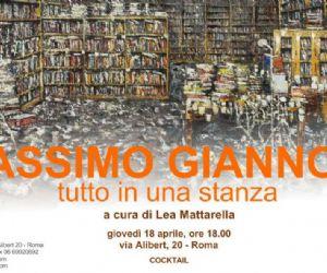 Mostre - Seconda personale di Massimo Giannoni negli spazi della Galleria Russo
