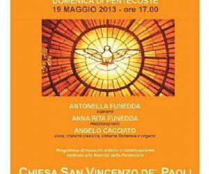 Concerti: Concerto di Pentecoste con musiche antiche e contemporanee