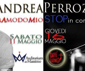 Concerti: Andrea Perrozzi in concerto insieme a Max Spurio e Giovanni Monti