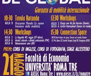 Corsi e seminari: Per la giornata della Mobilità Internazionale, all'Università degli studi di Roma Tre