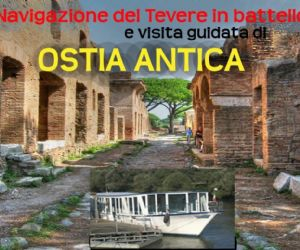 Visite guidate - Visita guidata fino ad Ostia Antica navigando il fiume Tevere